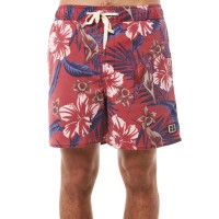 INSIGHT Mutiny Mens Beach Short BURGUNDY Side slip pockets  IWGMILJ