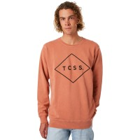 THE CRITICAL SLIDE SOCIETY Standard Mens Crew PAPRIKA Neck Line Crew  YPCSICV