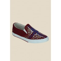 Men Get Glamr O'pry Red & Blue Sneakers MP000000000442702 BHNWTXA