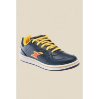 Men Sparx Navy & Yellow Sneakers MP000000000862760 NHWWNNG