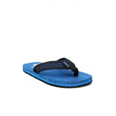 Men Sparx Black & Royal Blue Flip Flops MP000000001551362 PAOLMQF