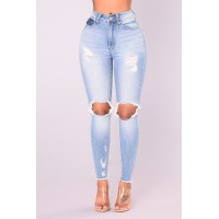 Women Naya Skinny Jeans - Light Denim High Rise 26